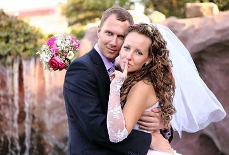 Ukrainian girl married to a western man