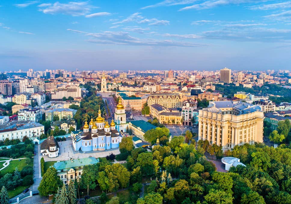 Kiev – capital of glamorous brides