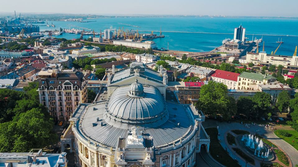 Intelligent Ukrainian women live in Odessa